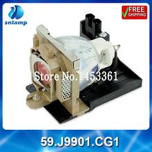 Buy High qulaity cheap original projector lamp bulb 59.J9901.CG1 PB6110 PB6120 PB6210 PE5120 for $89.61 in AliExpress store