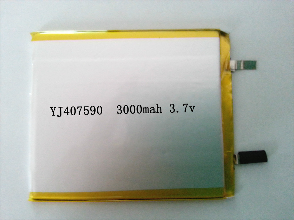 Factory direct 407590 3000MAH polymer battery lithium polymer battery