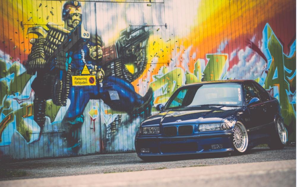 Free Shipping E36 M3 Bmv Tyuning Graffiti Poster Hd Home
