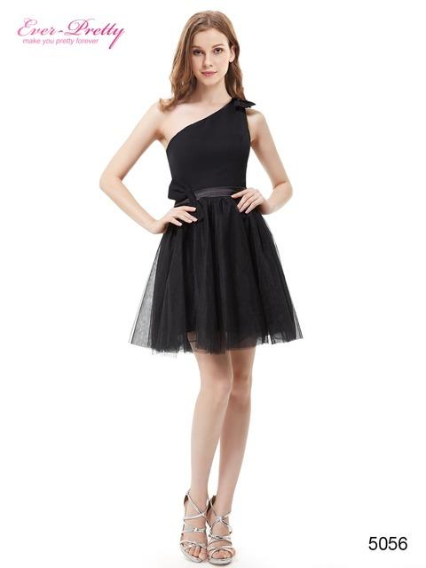 Черный белые платья возвращения на одно плечо ручной работы кланяется ну вечеринку ...