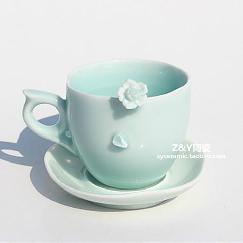 Original Italian Handmade Ceramic Cups Coffee Cup With A
