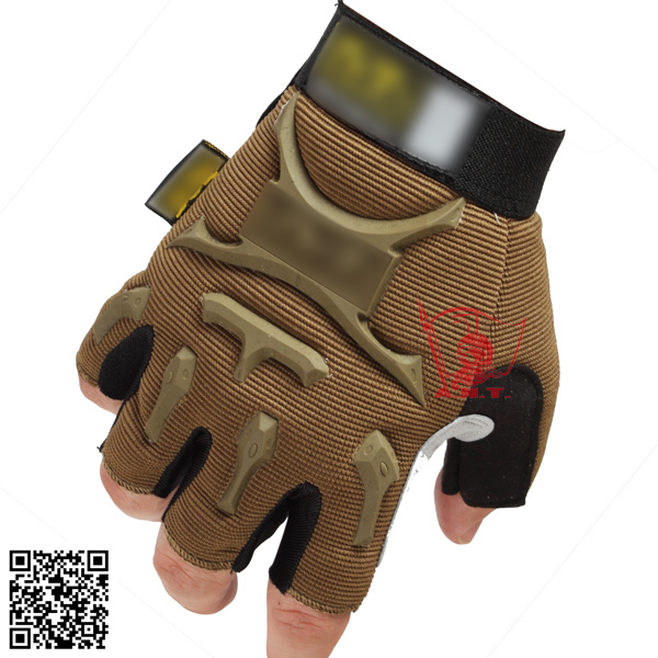 Super Technician High Quality M-Pact Outdoor Sport Half Finger Gloves Airsoft Work 3 SIZEReal Photo(China (Mainland))