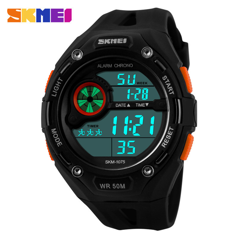 2015 New Skmei Brand Men LED Digital Military Watch, 50M Dive Swim Dress Sports Watches Fashion Outdoor Wristwatches<br><br>Aliexpress