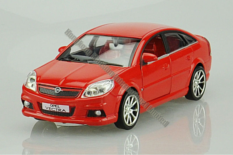 1:32 Alloy Diecast Metal Car Model For OPEL VECTRA Collection Model Pull Back Toys Car With Sound&Light - Grey/Blue/Red/Yellow(China (Mainland))