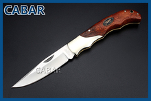 CABAR 2015 New Arrival 85mm Single Blade Hunting Camping Diving Outdoor Knife Top Quality Blade Fold