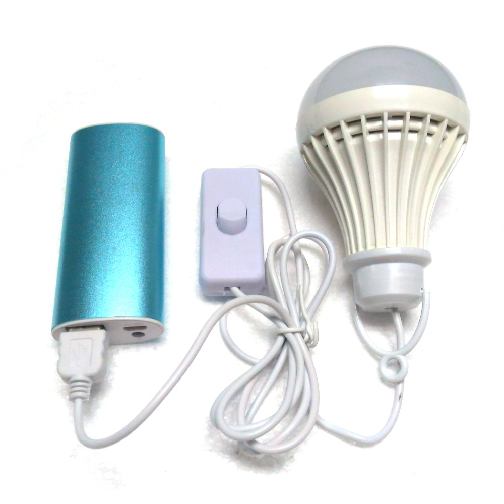 Portable Led Light Bulb Usb Light Dc5v Low Voltage Lamp Eye Protection Reading Book Light Table