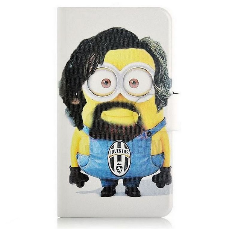 New 2015 Colorful Cartoon Case Despicable Me PU Leather Flip Case Cover for OPPO Find 3 X905(China (Mainland))