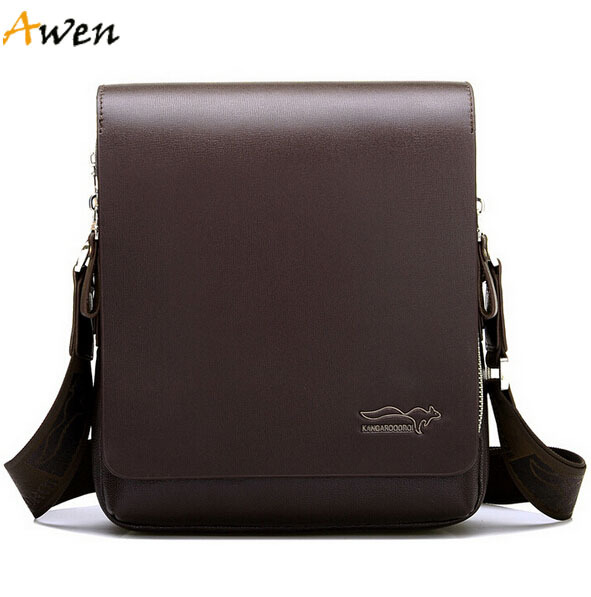 Awen hot sell new arrival leisure brand Kangaroo leather messenger bags for men,best selling mens shoulder bags,casual men bag(China (Mainland))