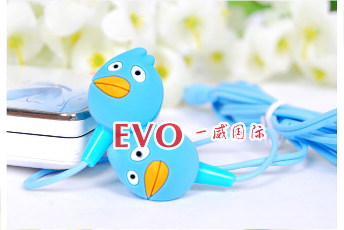 Cartoon Anime Earphone Minion despicable Me 3 5mm birds in ear Headphones For i Phone Mobile