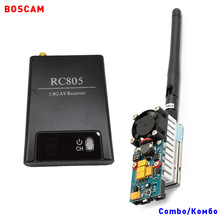 BOSCAM rc long range wireless video transmitter and receiver 5.8ghz 1W 1000MW 8CH av fpv quadcopter TX RX combo drone boat