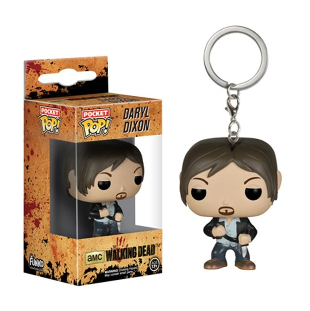 The Walking Dead Funko POP Daryl Dixon Pocket Keychain