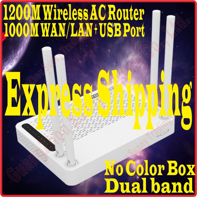 Express Shipping [Eng-Firmware] New TOTOLINK AC1200 Wireless Dual Band Gigabit WiFi Router USB VPN DDP WDS WPS Service (A2004NS)(China (Mainland))