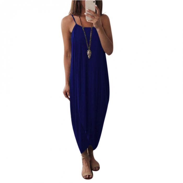 Высокое женское воздушное платье макси цельное трикотажное без рукавов