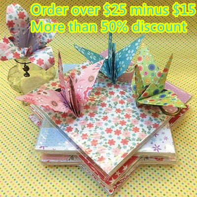 2015 New Arrival DIY Scrapbooking Paper Origami Lucky Star craft Folding paper(China (Mainland))