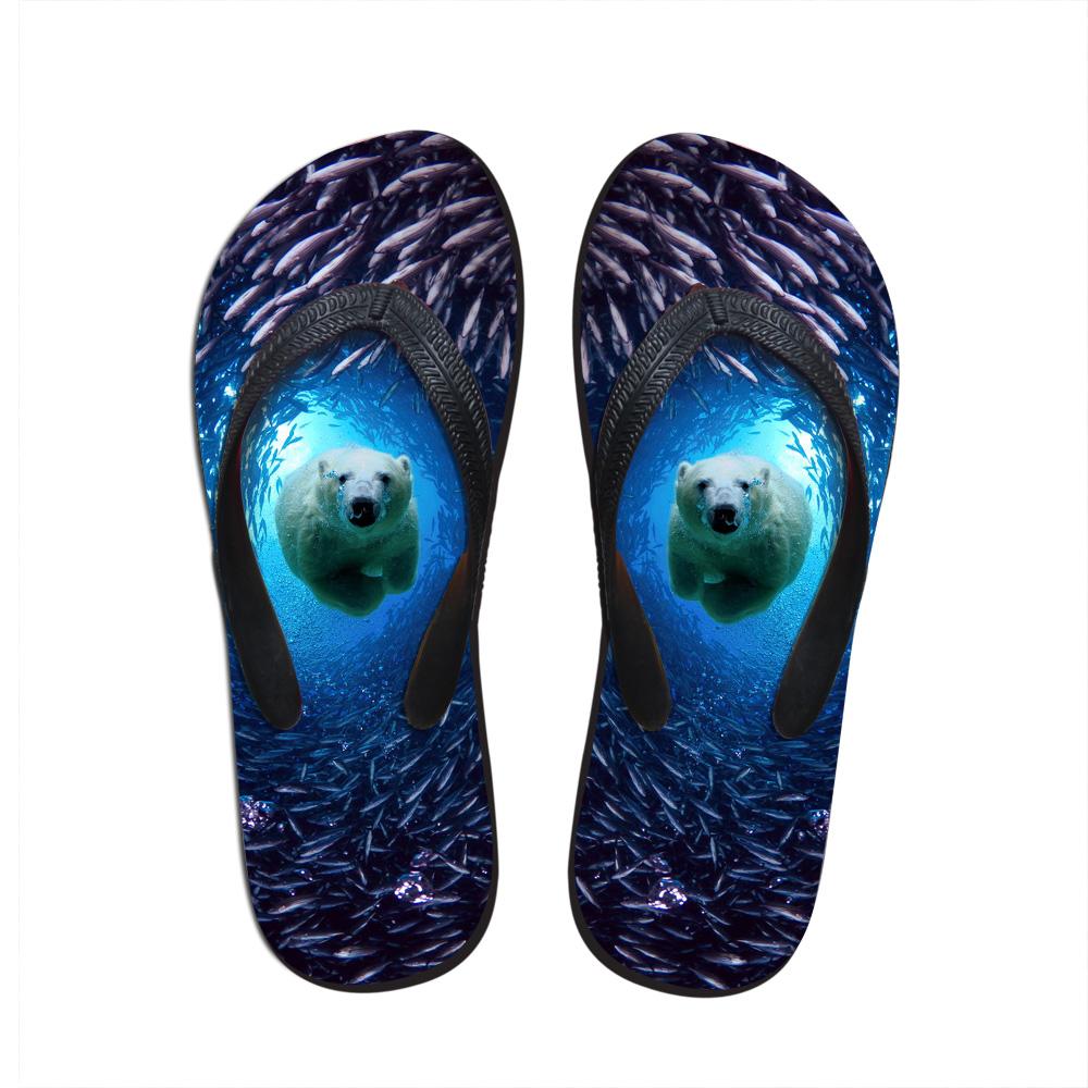 2016 Summer Beach Massage Flip Flops Shoes Men Rubber Slipper Blue Sea Shark Sandals Indoor & Outdoor Flip-flops Free Shipping(China (Mainland))