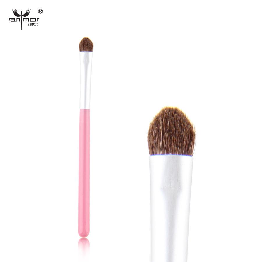 New Lovely Makeup Brushes Travel Make Up Brushes Natural Hair Soft Eyeshadow Brush(China (Mainland))