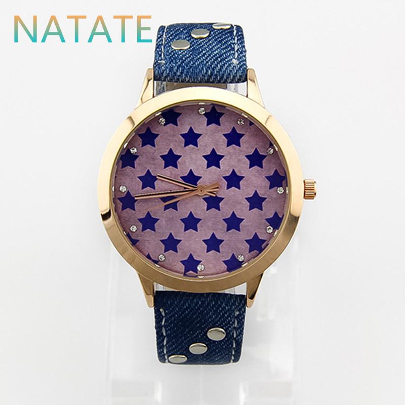 NATATE Women Quartz Sport Waterproof Dress Women Denim Casual Watch Bracelet Wristwatch Famous Brand KEZZI Watch 0940<br><br>Aliexpress