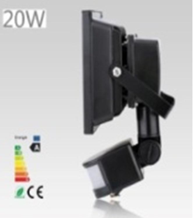 20W 1800LM LED Sensor Flood Light IP65 AC 85-265V Proyector Refletor Led Floodlight projecteur Led spotlight outdoor lighting<br><br>Aliexpress