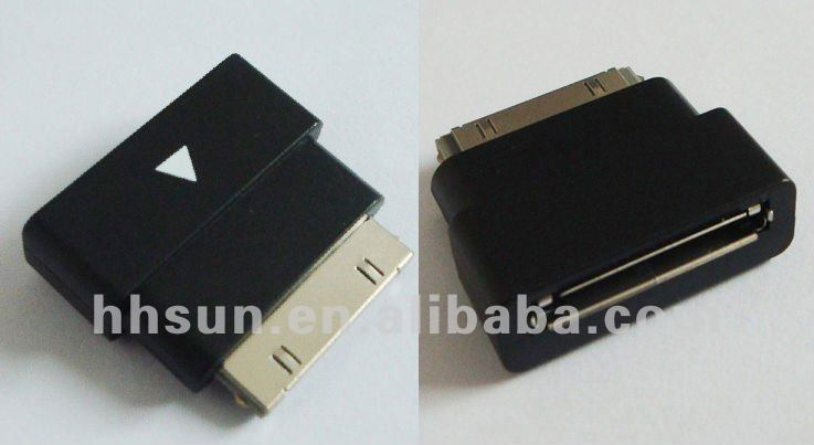 [FREE SHIPPING/EPACKET!] For Apple 30 pin Dock Connector Extension Cable Adapter for all iPod iTouch