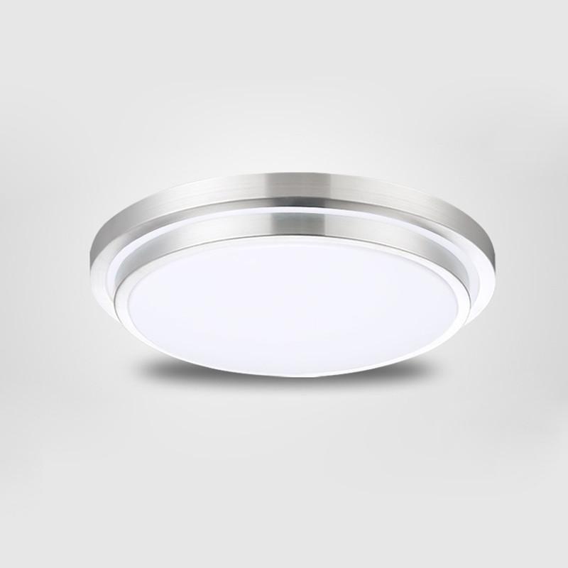 Купить Ecolight СВЕТОДИОДНЫЕ потолочные светильники Dia 350 мм, алюминий + Акрил Высокая яркость 220 В 230 В 240 В, теплый белый/Холодный белый, 15 Вт 25 Вт 30 Вт Светодиодные Лампы