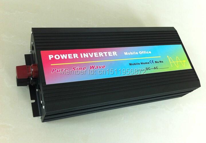 Solar Off Grid Inverter 12V 240V, Pure Sine Wave Micro Inverter 1000W(China (Mainland))