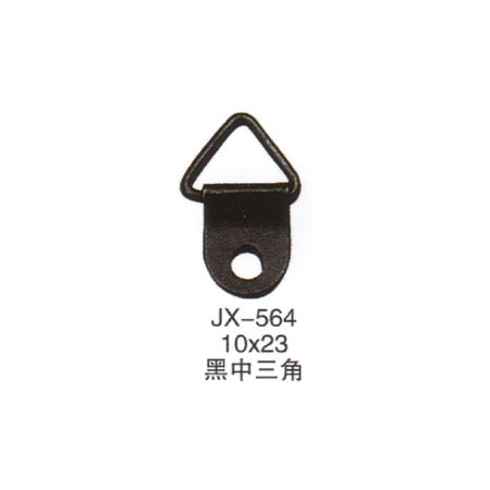 Free shipping good quality small size single hole photo frame hook steel black color cross stitch hanger 10*23 mm(China (Mainland))