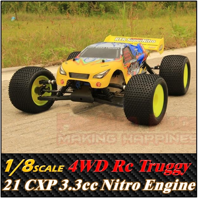 HSP Sea Rover 1/8 Scale 3.5cc Nitro Gas Power 4WD off-Road Truggy , Rc Buggy Car(China (Mainland))