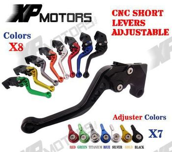 CNC Short Adjustable Clutch Brake Levers For Honda CBR600RR 2003-2006 CBR954RR 2002-2003