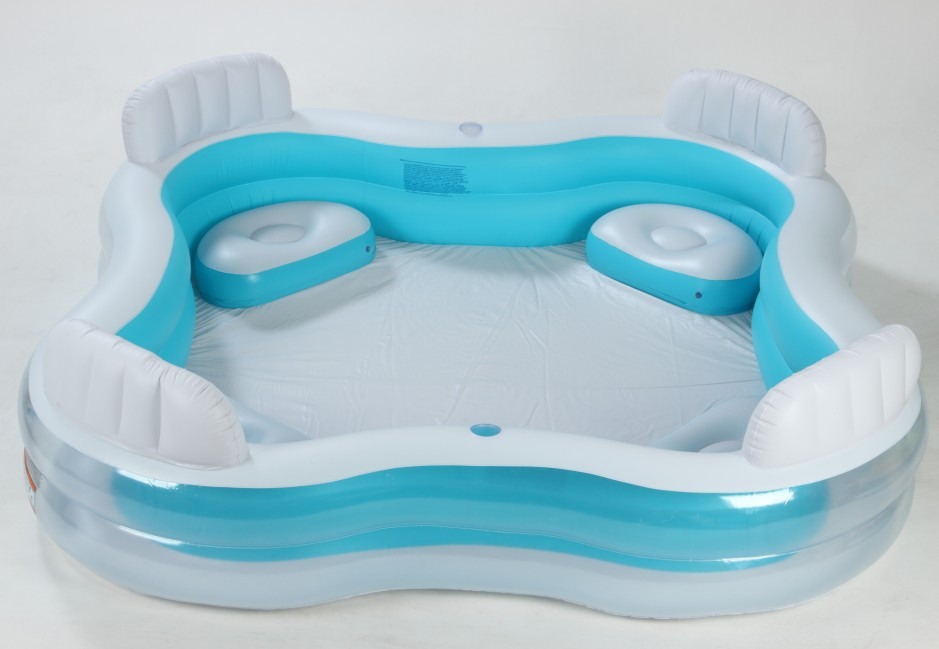 Intex inflatable swimming pool for family inflatable for Piscina inflable intex