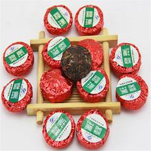 70pcs Ripe Mini Puer Puerh Rose Tea Enhance Immune System Tuo Cha Tea Pu er Milk