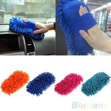 Ultrafine Fiber Chenille Anthozoan Car Wash Washer Supplies Washing Cleaning Glove