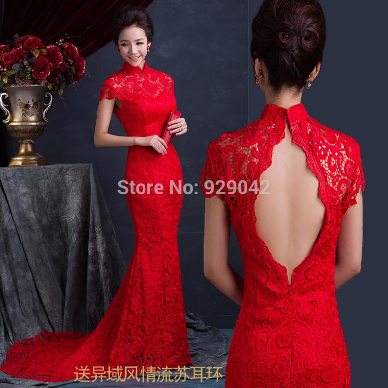 M s de 1000 ideas sobre cheongsam wedding en pinterest for Chinese style wedding dress