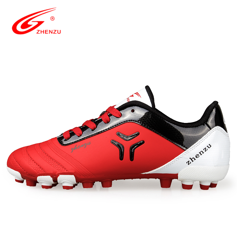 ZHENZU 2016 New Men Teenagers Soccer Shoes AG Artificial Ground Football Boots Professional Sports Shoes, Size 36-44<br><br>Aliexpress