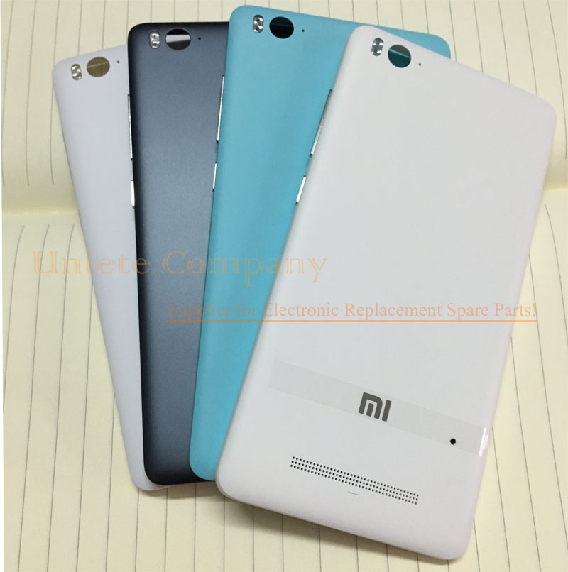 Original Back Shell Case for Xiaomi MI 4I 4C Mi4i Mi4c Back Battery Cover Door Housing Replacement Spare Parts(China (Mainland))