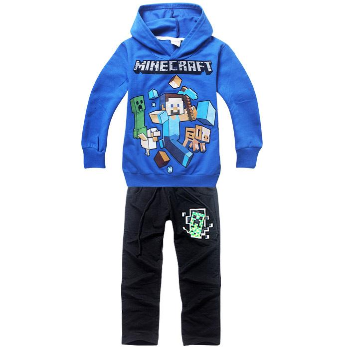 2015 Boys Children Hoodies kids Sports Suit New Jacket Sweater Coat & Pants children Clothes Sets meninos outono hoodies roupas (China (Mainland))