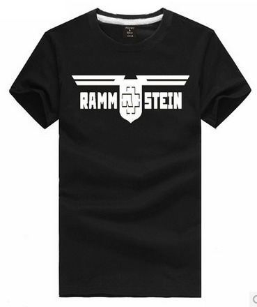 Chinese size s m l xl xxl 3xl rammstein german band t for Xxl band t shirts