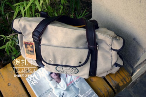 High Quality Japan Anime Totoro Canvas Students Travel Bag Two Colors Shoulder Bags Women Men Handbag