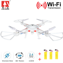 LIANSHENG Exclusive design 2.4G 4CH 6A-XIS Large Size 50CM RC remote control Drone Quadcopter with Camera HD FPV WIFI LS-127