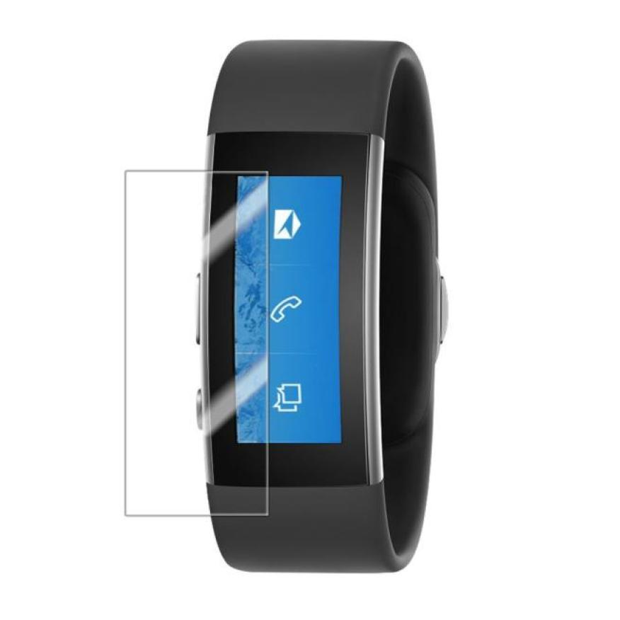 Top Quality 5PCS HD Clear Screen Protectors Film Guard For Microsoft Band 2 Smart Watch + Cleaning Cloth Mar16<br><br>Aliexpress