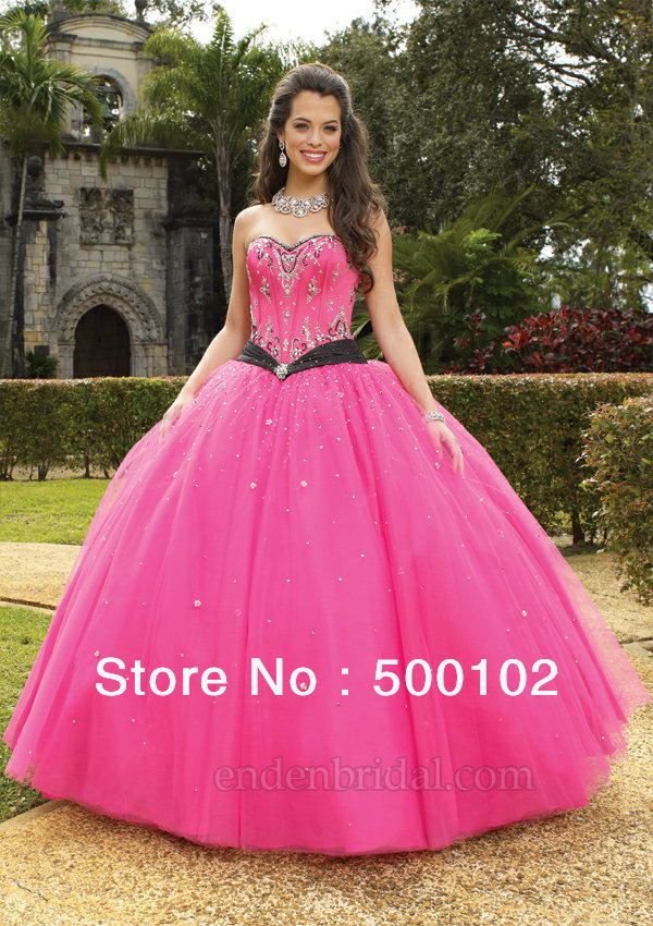 High Quality Hot Pink Wedding Dresses Promotion-Shop for High ...