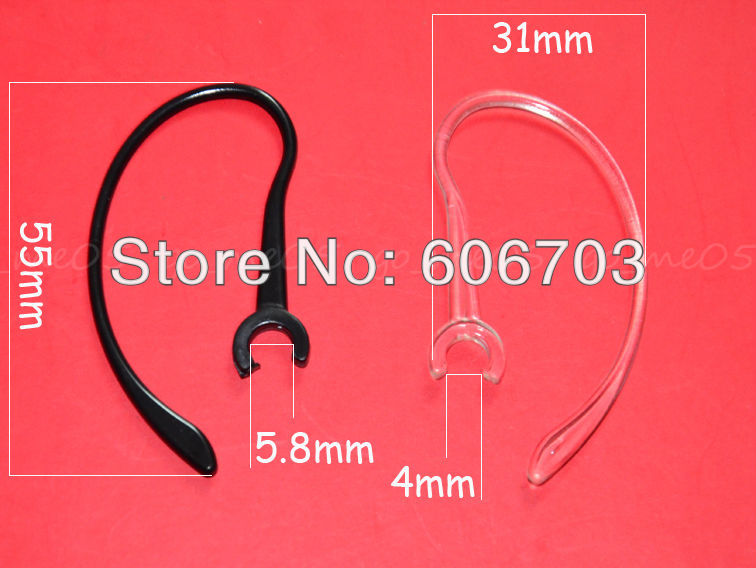 10X 5.8MM Clamp Ear hook Universal Bluetooth Headset Clips replacement FG06<br><br>Aliexpress