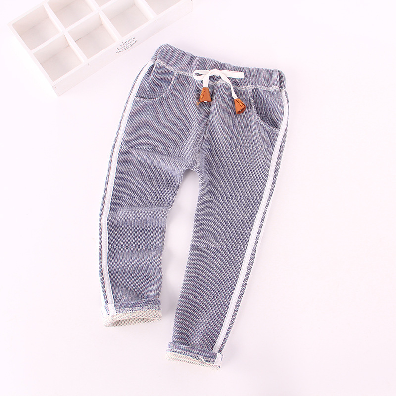 2016 new spring all-match casual pants cotton long pants three stripes trousers<br><br>Aliexpress