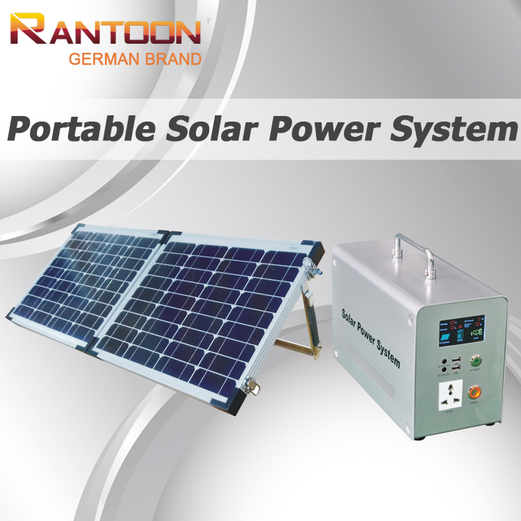 German brand, 200W portable multifunctional mini solar power system, off grid solar home system 200w(China (Mainland))