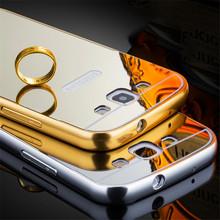 Samsung Galaxy J1 J3 J5 J7 2016 J120 J310 J510 J710 Mirror Acrylic Back Cover Electroplating Aluminum Slim Hard Phone Cases - One Shop,One Dream Co., Ltd store