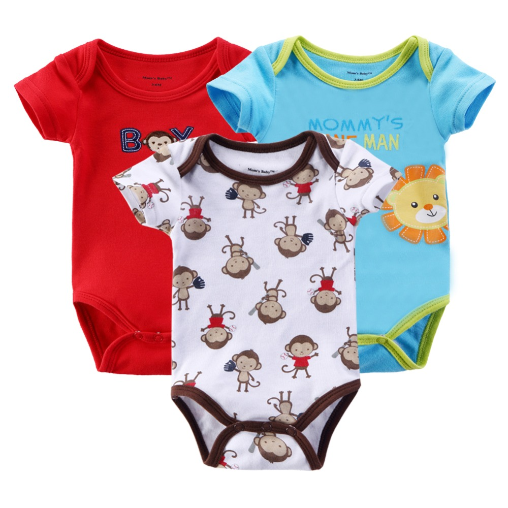 2014 Winter Newborn Baby Girls Boys Carters Romper Baby Short-sleeve Cartoon Infant Rompers Boy's Girl's Clothing Baby Wear KT02