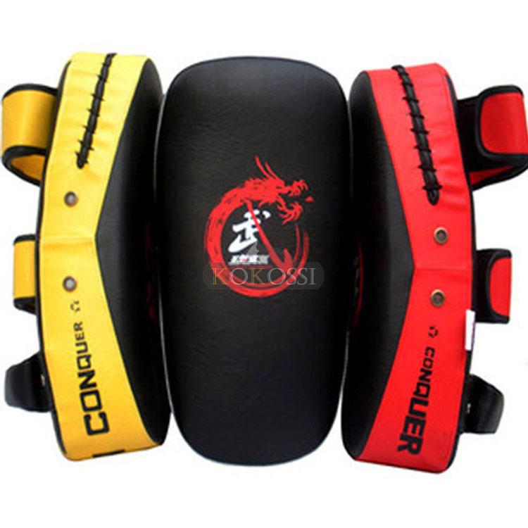 New Professonal Boxing Muay Thai MMA Sanda Training Punching Shield Foot Target Focus Pad  White Free Shipping (Singal)<br><br>Aliexpress