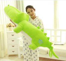 big lovely crocodile toy plush cartoon crocodile doll cute green crocodile toy gift about 120cm
