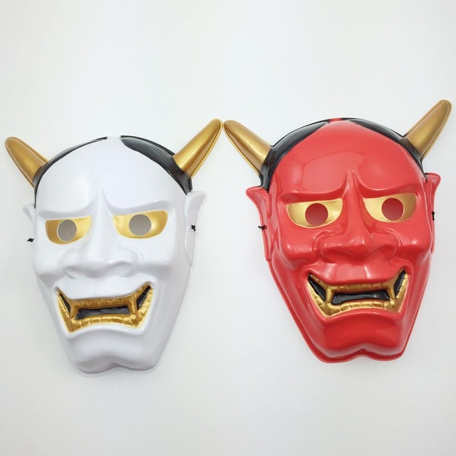Japanese Style Ghost Mask Hannya Mask Exquisite Theme Mask