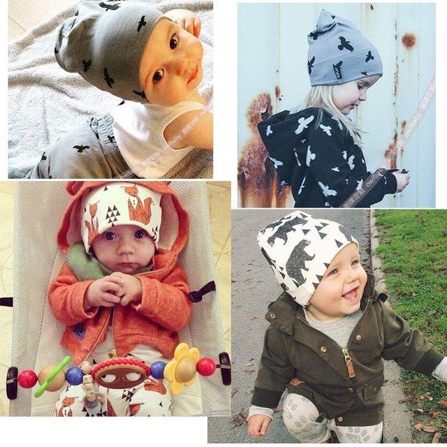 Мода Chic Детские Младенческая Малышей Шапочка Hat Теплая Зима Дети Мальчики Девушка Колпачок Новый