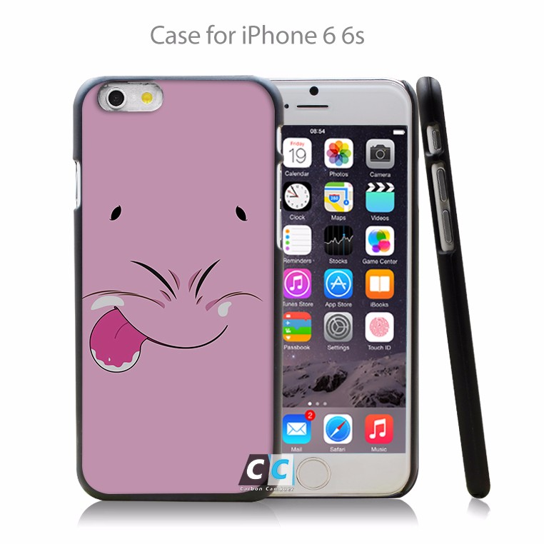 Dragon Ball Z Majin Buu Cute Face Hard Black Case Cover Shell Coque for iPhone 4 4s 4g 5 5s 5g 5c 6 6g 6 Plus